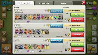 THE TROLL BASE IS BACK - Trolling in Masters League --Clash of Clans(CoC)-- Trophy/Resource/Hybrid