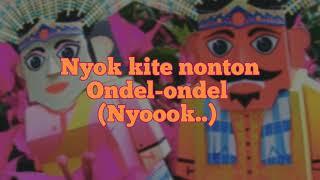 BENYAMIN S - ONDEL-ONDEL [KARAOKE]