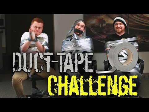 THE DUCT TAPE CHALLENGE w/ Ross, Red, Max and Barney
