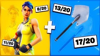 🔥 I NOTE YOUR 20 TRYHARD SKIN COMBOS ON FORTNITE! v23