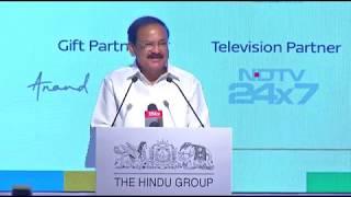 The Hindu Huddle 2019 | Chief Guest Address by Venkaiah Naidu
