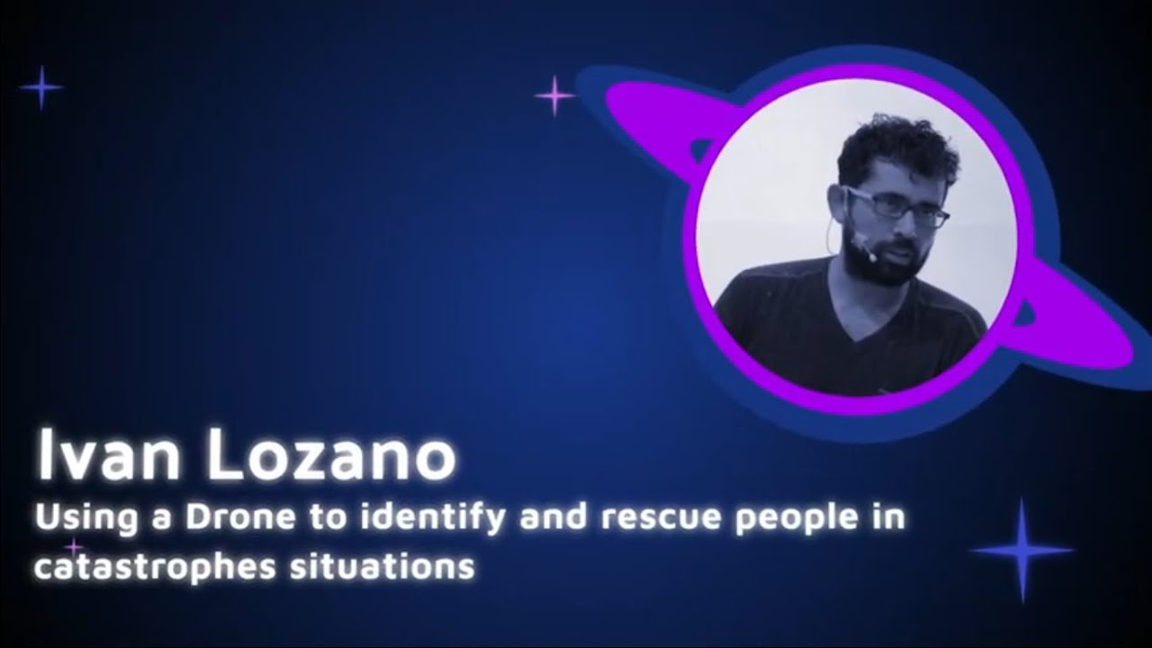 Image from Ivan Lozano - Using a Drone to identify and rescue people - PyCon Colombia 2019