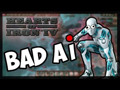 BAD AI + ROAD TO 56 MODS! | Hearts of Iron 4 hoi4 - AI ONLY!