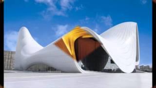 Zaha Hadid Centro Heydar Aliyev Auditorio Arquitectura al Día Deconstructivista