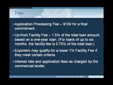 EXIM Bank Webinar: Access Capital to Fulfill Your Export Orders