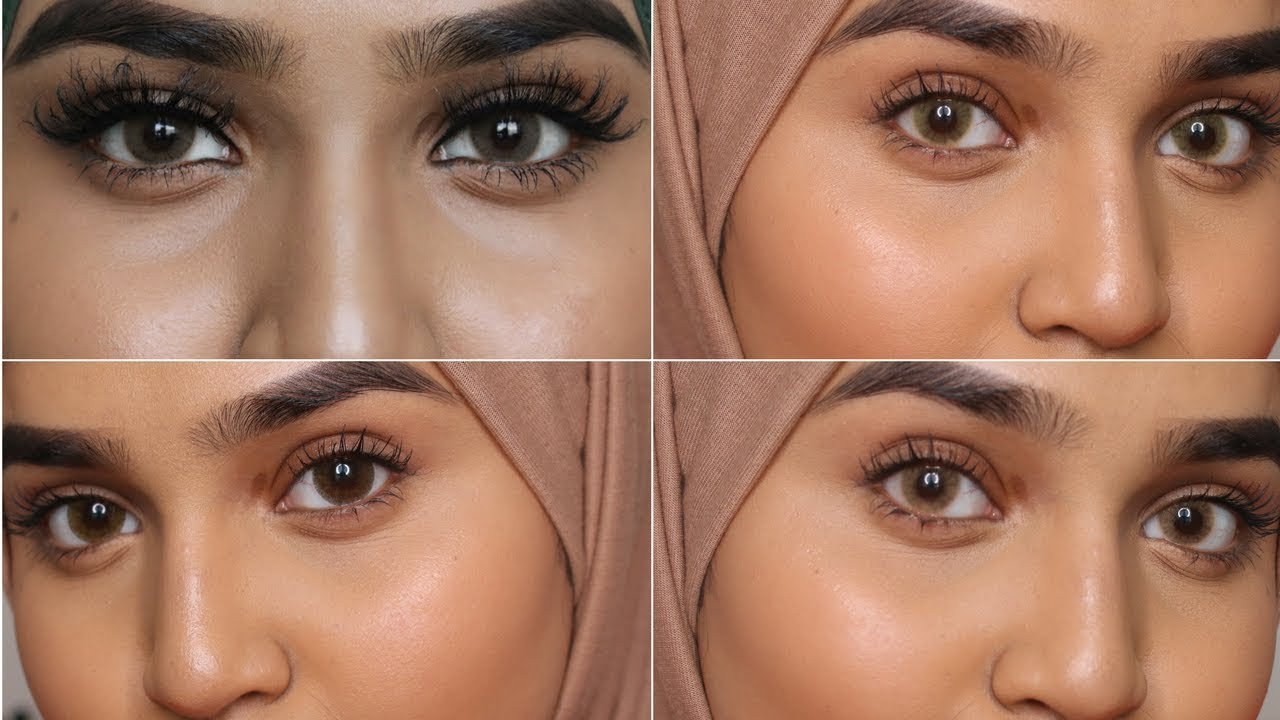 best contact lenses for dark eye and brown indian skin youtube