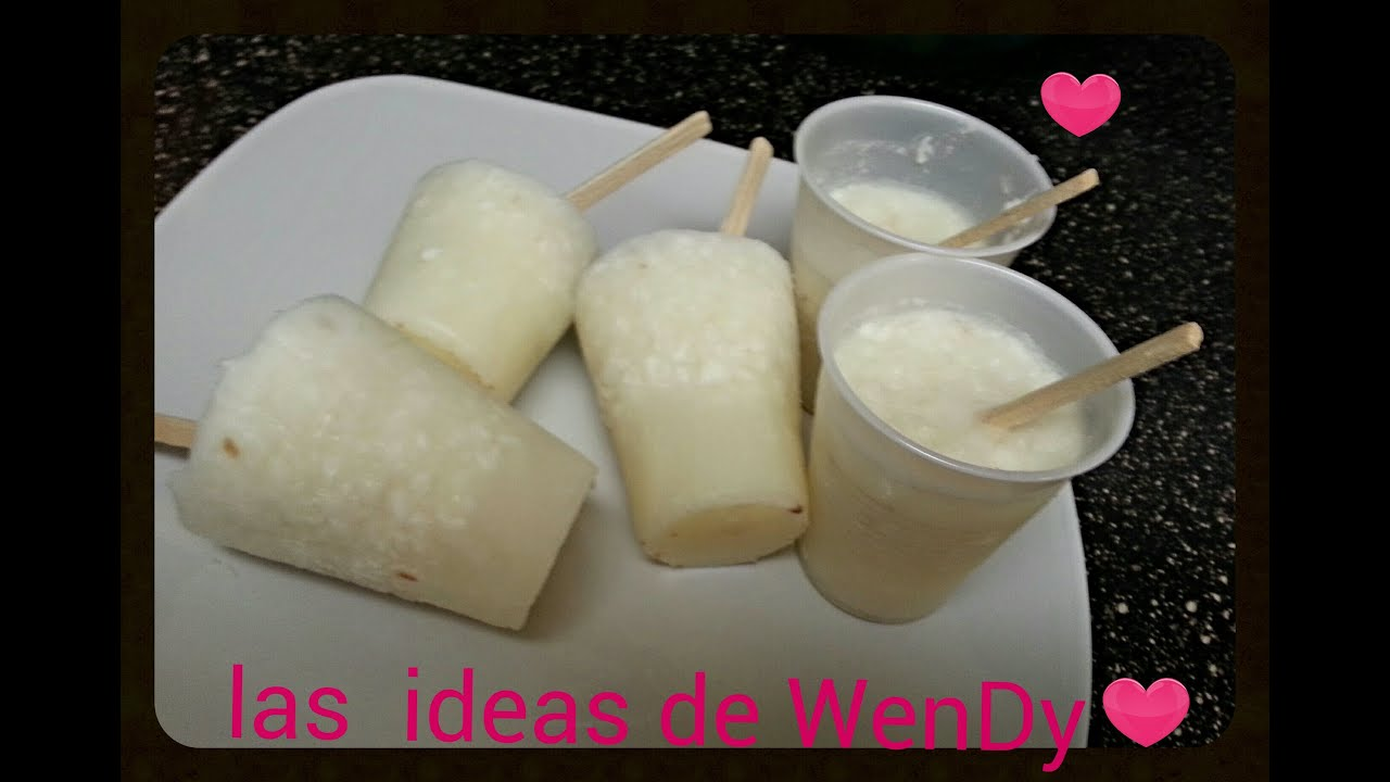 Paletas de leche con coco youtube for Imagenes de coco