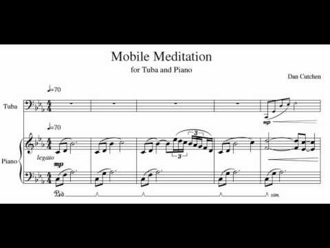"Tuba Solo with piano - ""Mobile Meditation"""