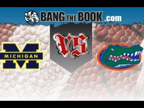 2016 Citrus Bowl No. 19 Florida vs No. 14 Michigan No Huddle