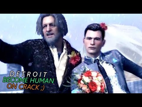Detroit Become Human on Crack #6 - Funniest DBH Meme Compilation