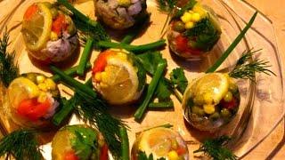 Яйца Фаберже (секрет приготовления) Заливные яйца