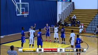 2012 Boys Basketball: G.W. Carver (Alabama) vs. Benson Tech (Oregon): December 22, 2012