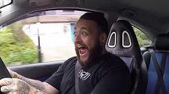 MONSTER 355 BHP HYBRID TURBO FOCUS RS SCARED ME!!!!