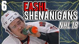 EASHL Shenanigans | NHL 18 Funny Clips (Episode 6)