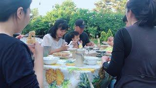 #92 CHIÊN CHẢ GIÒ MỜI BẠN BÈ CHỒNG ĂN THỬ [ Cuộc Sống Trên Đất Hàn ]