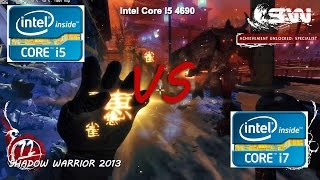 intel core i5 4690 vs i7 4790 gaming performance test