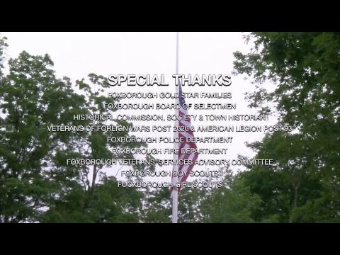 Memorial Day Ceremony - Foxborough, MA