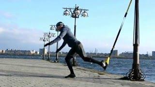 Круговая тренировка TRX (базовые движения)