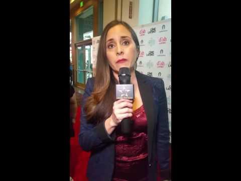 Karyme Lozano en el Hola Mexico Film Festival 2016