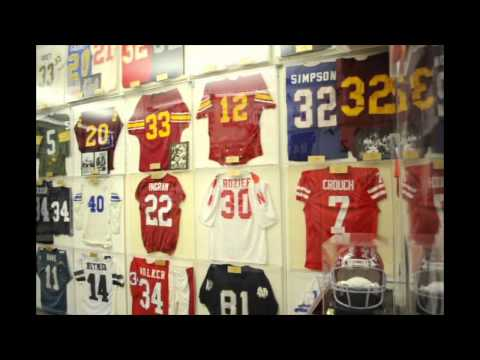 Newport Sports Museum Showcase