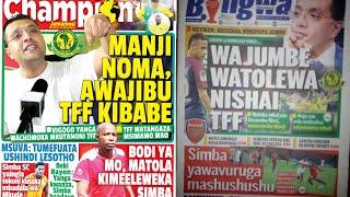 MICHEZO Magazetini Jumamosi 17/11/2018:Kisa Manji,Wajumbe Watolewa Nishai na TFF
