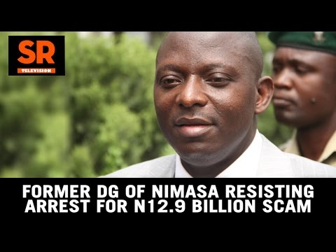Former DG Of NIMASA Resisting Arrest For N12.9 Billion Scam