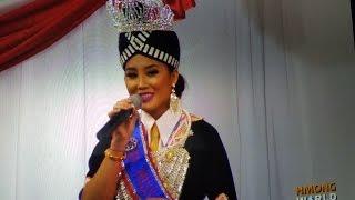 PAJ TSHIAB VAJ, Miss HIN 2016, FAREWELL SPEECH and her Miss Little Hmong Int'l Princess Program