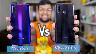 Vivo Z1x Vs Vivo Z1 Pro Comparison Camera, Battery, Performance | Galti Mat Karna 🤔🤔
