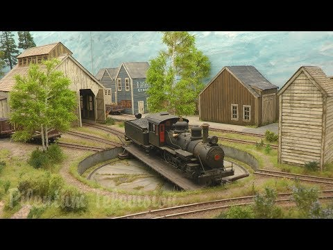 "Superb On30 Model Railroad Layout ""Mara Harbor"" by Martin Welberg"
