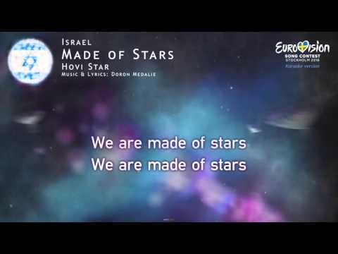Hovi Star - Made of Stars (Israel) - [Karaoke version]