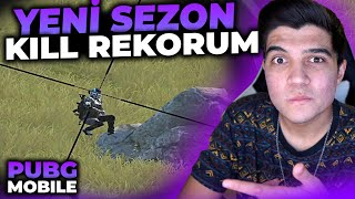 17. SEZON KİLL REKORUMU KIRDIM!! | PUBG Mobile