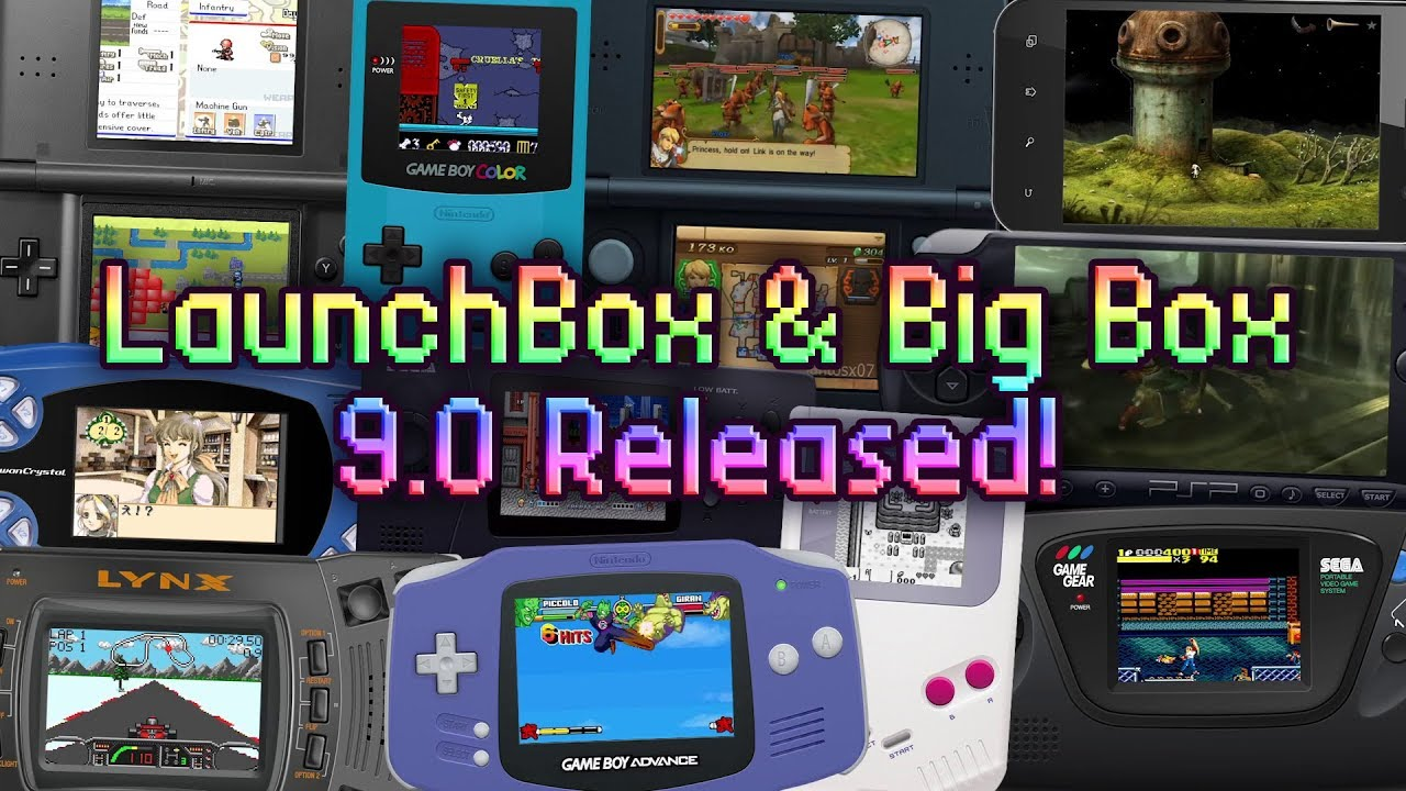 LaunchBox & Big Box 9 0 Released! - Clean Up Media & Auto-Generated  Playlists