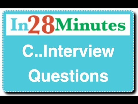 C Programming Language Interview Questions And Answers for Freshers - Part1