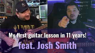 Josh Smith Teaches me the Blues | Lessons with the Greats (Full Guitar Lesson)