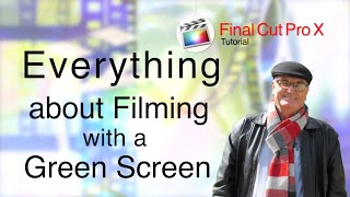 Everything about filming with a Green Screen for YouTube Creators - training final cut