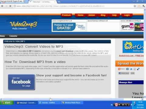 Video to Mp3 music convertor help !!! no limit for convert good site !!!!