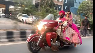 Dulhan Ki Vidai on BIKE | History Created 😱