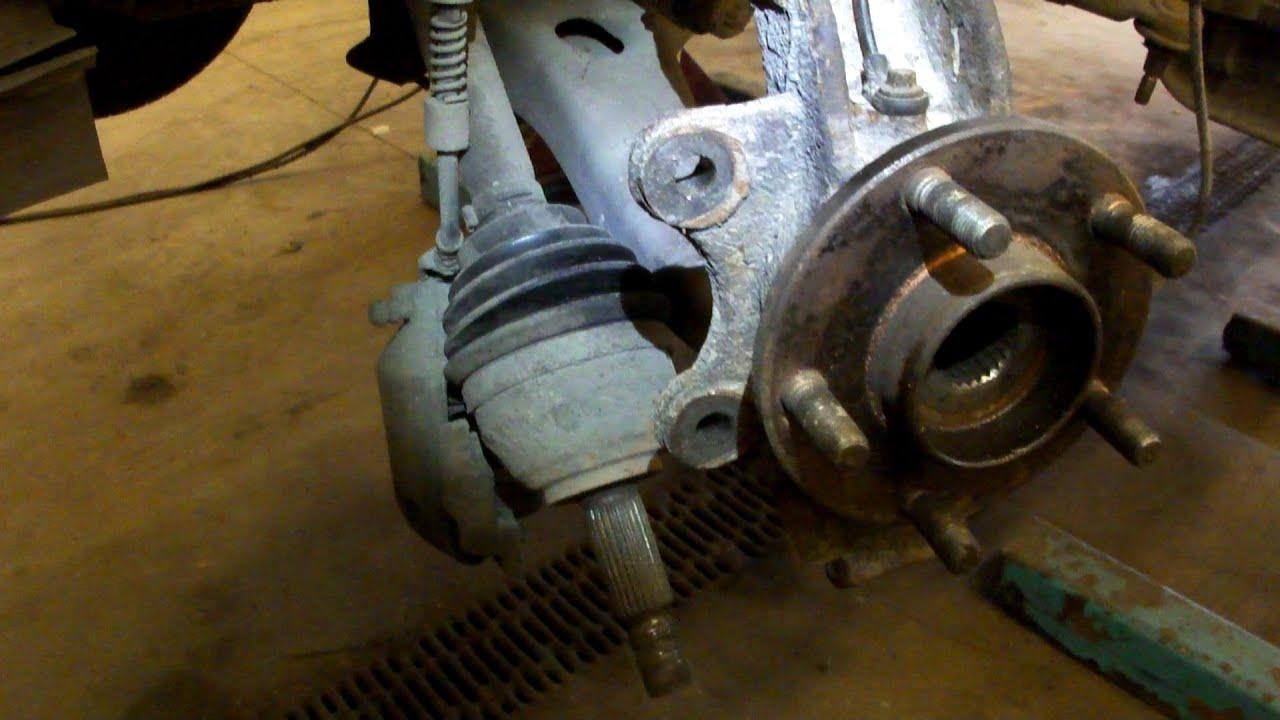 Сборка передней ступицы FORD Connect How To Install Front Hub Wheel Bearing Assembly