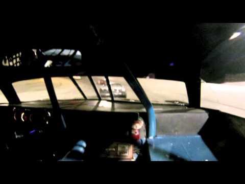 Flag to Flag Battle - Jake Piel In-car Lebanon I-44 Speedway 9/5/15