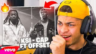 REACTING TO KSI – CAP (feat. Offset) [Official Music Video]