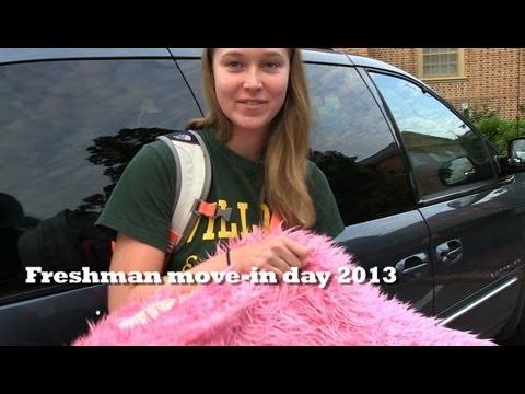 W&M freshman move-in day 2013