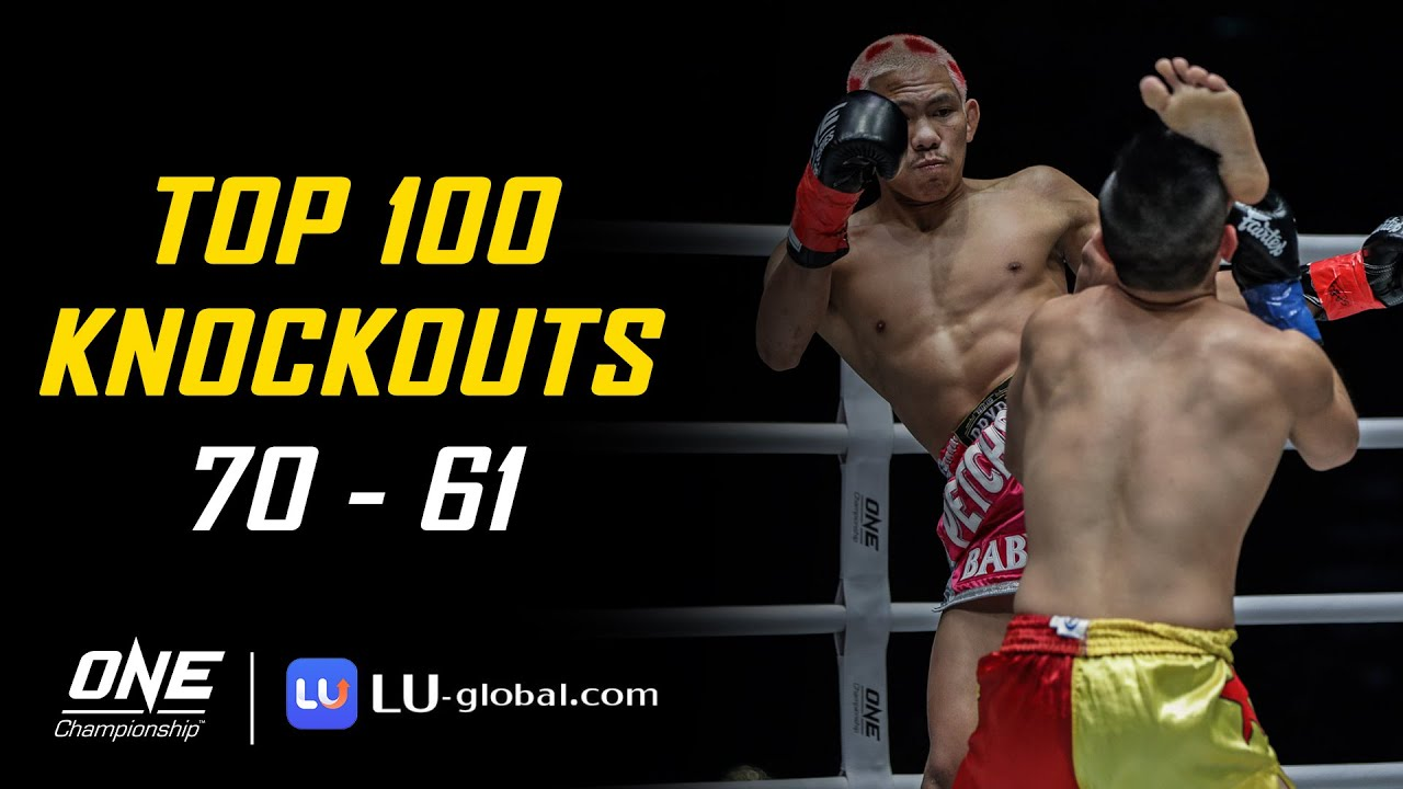 ONE Championship's Top 100 Knockouts | 70 - 61
