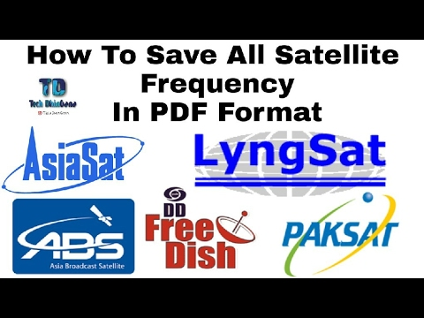 All Satellite Frequency In PDF Format DD Free Dish ABS 2 Asiasat S3 Paksat Apstar 7 & More
