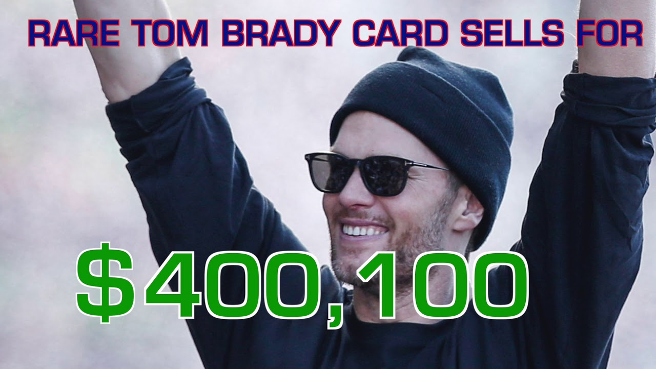 Tom Brady Rookie Card Sells For Record Price
