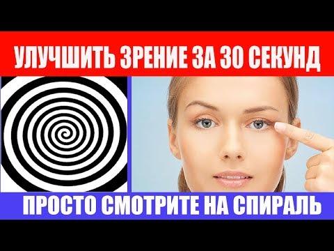 Улучшить зрение за 30 секунд. Спираль для улучшения зрения