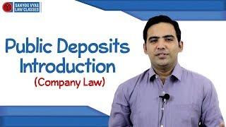 Public Deposits | CS Executive | CA Inter | CMA Inter | Company Law | Law Lectures