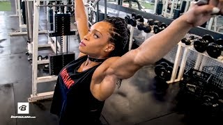 IFBB Figure Pro Back Workout | Lola Montez