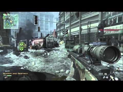 Modern Warfare 3 Search & Destroy Gameplay ( Theater Mode  )