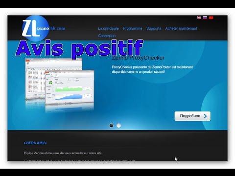 Zennoposter l'automatisation web