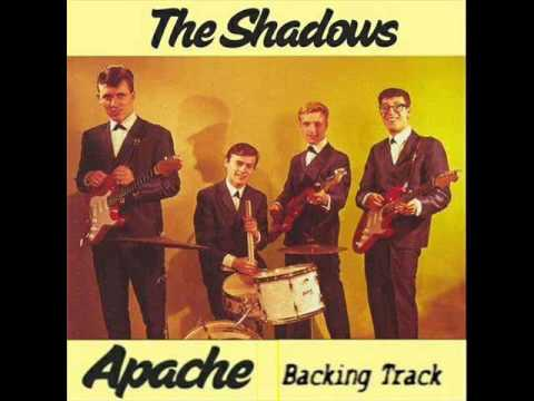 The Shadows - Apache (Guitar Backing Track) - YouTube